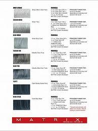 hair color formula silver hair formulas using matrix elizabethjoannehair
