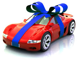 big bow for car present big gift