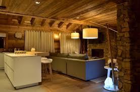 chalet cuisine deco intérieur chalet moderne salons future house and future
