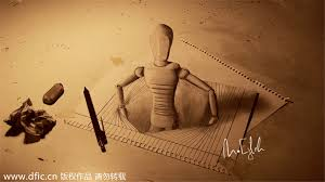 new views amazing 3d pencil drawings 1 chinadaily com cn