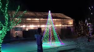 fort collins christmas lights fort collins garden of lights 2016 youtube