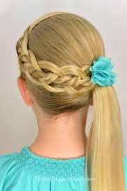 mer enn 25 bra ideer om coiffure pour petite fille på pinterest