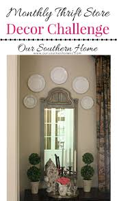 thrift store mirror makeover our southern home