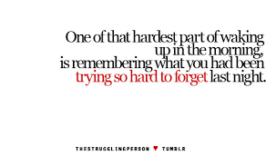 hardest part morning one of the phrases quote image 19772