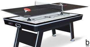 tabletop ping pong table nhl air hockey table with ping pong tabletop ping pong table topper