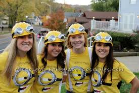 Minion Halloween Costume Ideas Pac Man Ghosts 2012 Halloween Costume Contest Halloween