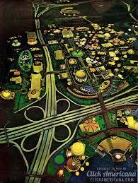1964 World S Fair Map by The New York World U0027s Fair 1964 Click Americana