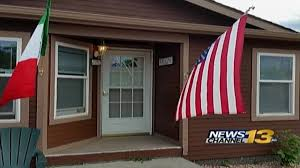 Hanging Flag Upside Down Update Homeowner Responds To Upside Down Flag Controversy Krdo