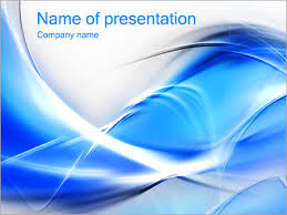 wonderful blue abstract image powerpoint template u0026 backgrounds id