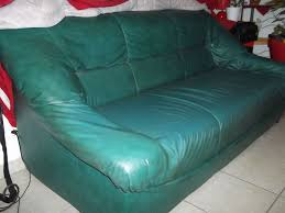 canap cuir vert canape vert occasion offres mai clasf