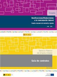 bonificaciones contratos 2016 el sepe publica guías sobre los contratos de trabajo y las