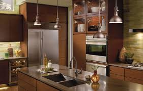 modern kitchen light fixtures cream wooden floor white stained