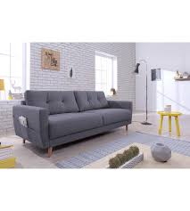 canape gris anthracite canapé 3 places scandinave tissu gris anthracite stockholm