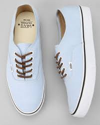 light blue vans shoes shoes vans blue brushed twill california authentic sky