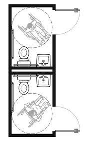 Bathroom Size Requirements Toilet Door Width U0026