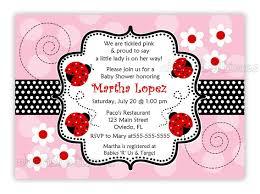 ladybug baby shower invitation marialonghi com