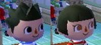 acnl hairstyle guide animal crossing new leaf hair guide english