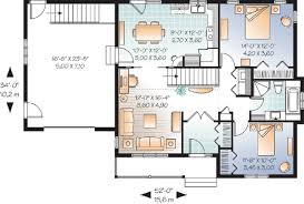 Ranch Floor Plans With Basement by Ranch Home Plans With Basement House Plans