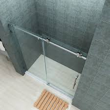 Glass Shower Door Bottom Sweep by Sunny Shower 3 8 U0026 034 Frameless Glass Shower Door Bottom Seal