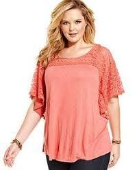 plus size blouses and tops plus size top batwing sleeve burnout tie hem