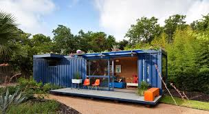 modern house made out of used shipping containers thementra com