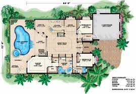 house plans with pool mediterranean style house plan 3 beds 2 00 baths 2278 sq ft plan