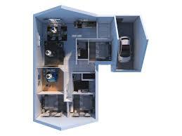 chambre notaire maine et loire plan maison de plain pied avec 4 chambres villacapri 105 m villadéale