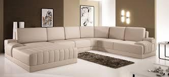 Polaris Sofa Divani Casa Polaris Contemporary Bonded Leather Sectional Sofa