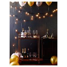 Plastic Globe String Lights 25ct Clear Globe Lights Room Essentials Target