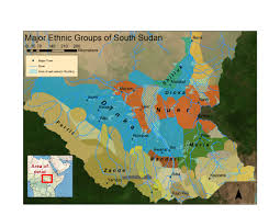 Map Of Sudan East Africa Gis Data And Maps Map East Africa
