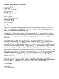 auditor cover letter sample experience resumes