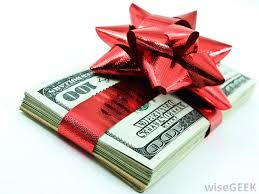 present ideas withal gift wrapped money