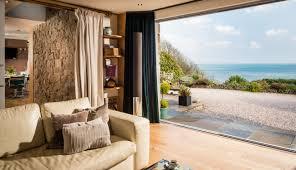 luxury beach cottage cornwall luxury beach houses cornwall uk