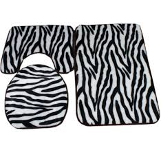Three Piece Bathroom Rug Sets by Zebra Bathroom Rug Set 3 Piece Bath Rug Sets 3 Piece Bath Rug Set