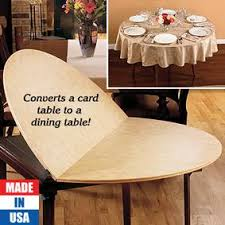 Dining Room Table Extender Card Table Extender Table Top Fresh Finds 100 110 48 54