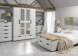 Best White Bedroom Furniture For Outstanding Look Images On - Ready assembled white bedroom furniture