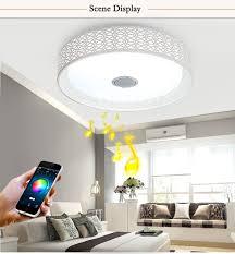 bluetooth musik deckenleuchten intelligente led app wohnzimmer