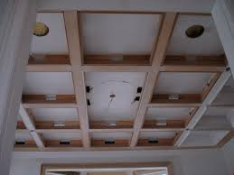 Coffered Ceiling Lighting by Ceiling Coffered Ceilings In Progress