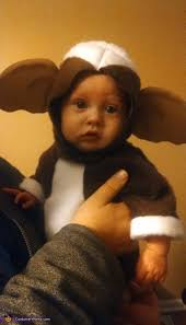 Gremlins Halloween Costume Gizmo Baby Costume