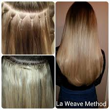 la weave hair extensions cara hair extensions on la weave method hair