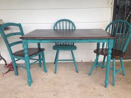 Painted Kitchen Table Ideas by Best 25 Painting Kitchen Chairs Ideas On Pinterest Paint A