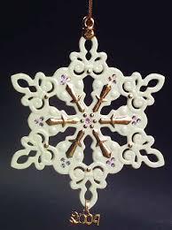 lenox china snowflake ornament at replacements ltd