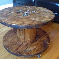 Wooden Spool Table For Sale Find More Electrical Spool Coffee Table For Sale At Up To 90 Off