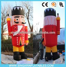 12ft big outdoor inflatable nutcracker wooden soldier christmas