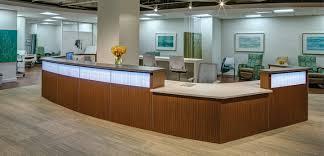 Ada Reception Desk Haworth Compose Ada Compliant Nurses U0027 Station Bos Healthcare