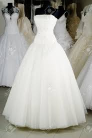 shop wedding dresses wedding dress shop with many objects stock photo picture and