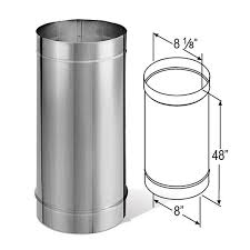 8 inch stainless steel triple wall chimney pipe most popular