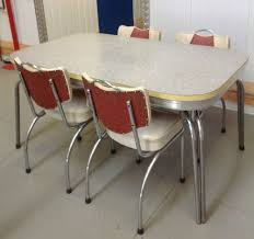 S Retro Kitchen Table And Chairs Ohio Trm Furniture - Ebay kitchen table