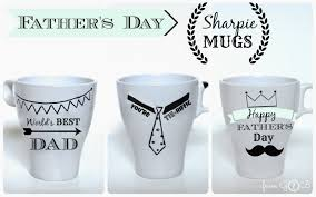 fathers day mug from gardners 2 bergers s day sharpie mugs