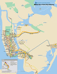 Nyc Mta Map Riding While White In The Nyc Subway Black Maps Science